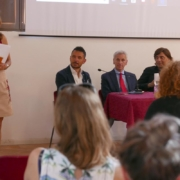 """Il convegno nell'ambito della manifestazione """"Senigallia Collezioni - Moda e Formazione"""" a palazzetto Baviera"""