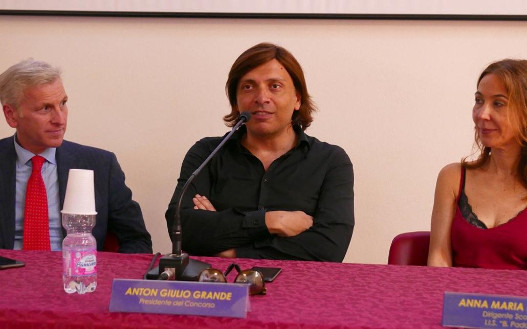 Lo stilista Anton Giulio Grande a Senigallia