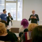 Il saluto al personale della Fondazione Città di Senigallia da parte del consigliere Francesco Mancini