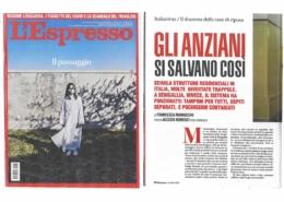 Covid-19, l'articolo de L'Espresso del 12 aprile 2020 sulla Fondazione Città di Senigallia
