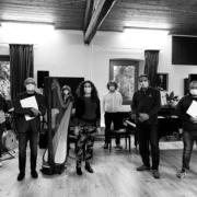 L'incontro e omaggio musicale dell'associazione Harmonia al consiglio di amministrazione della Fondazione Città di Senigallia