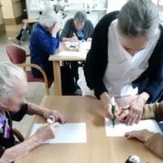 Alcune delle attività svolte all'interno della Fondazione Città di Senigallia per il recupero cognitivo degli ospiti