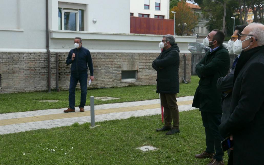 L'intervento del presidente della Fondazione Città di Senigallia Michelangelo Guzzonato