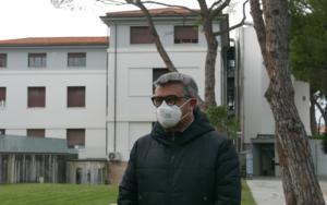 Il sindaco di Senigallia Massimo Olivetti