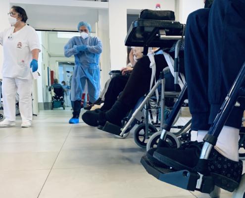 Le vaccinazioni alla residenza protetta della Fondazione Città di Senigallia